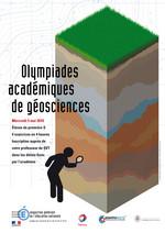 Affiche Olympiades des géosciences