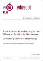 Aide à l'évaluation élémentaire sciences et tech. couverture